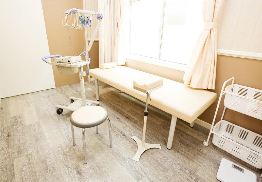 広い診察室で仕事がしやすい環境を整備